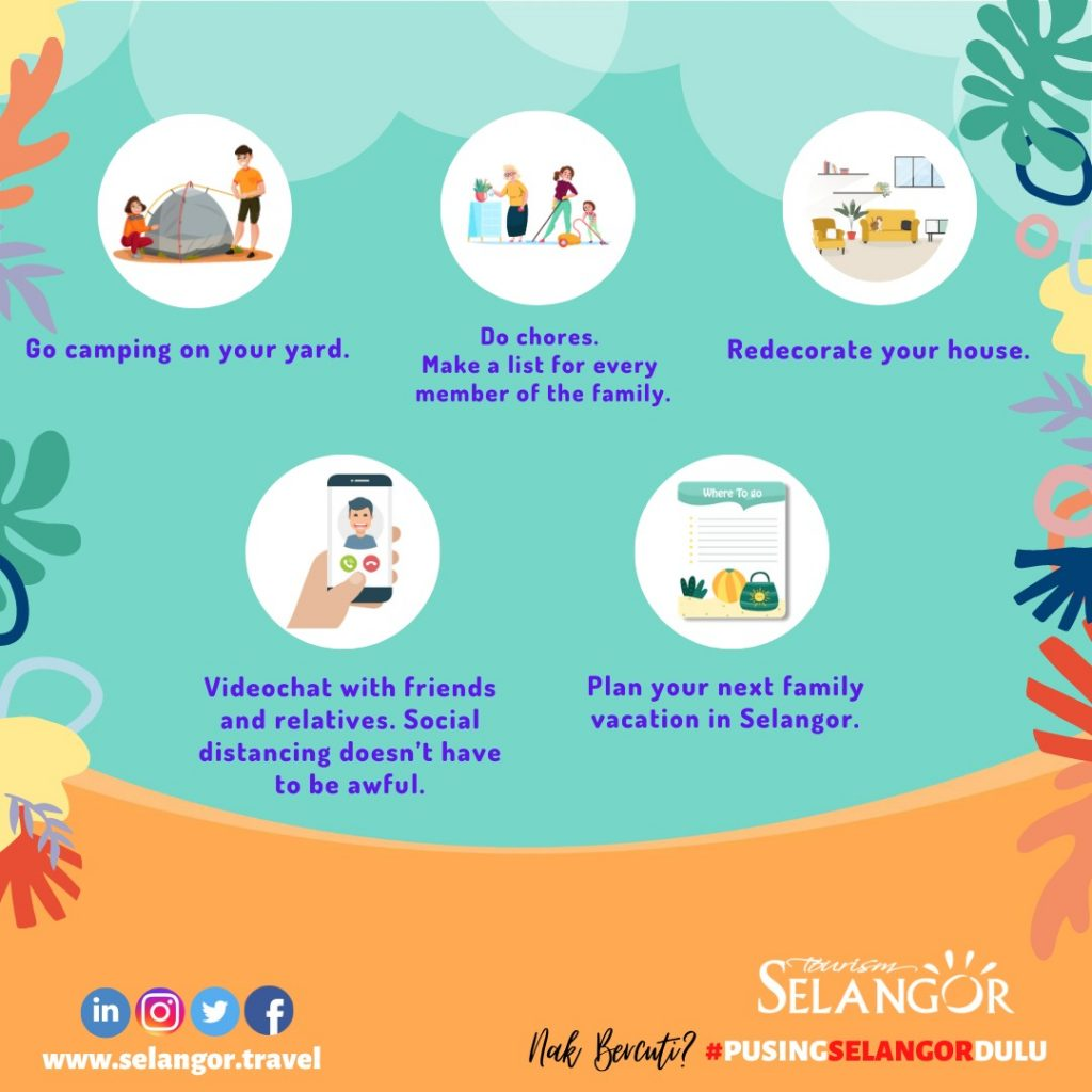 holiday activities for kids at home