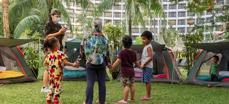 Kid activities in Malaysia hotels