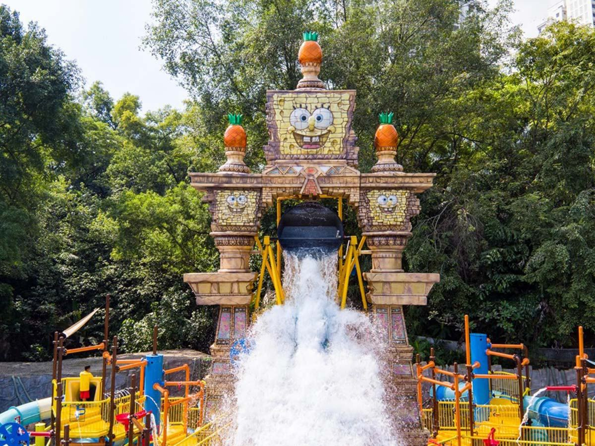 Best theme parks in Malaysia - Nickelodeon Water Park Sunway Lagoon