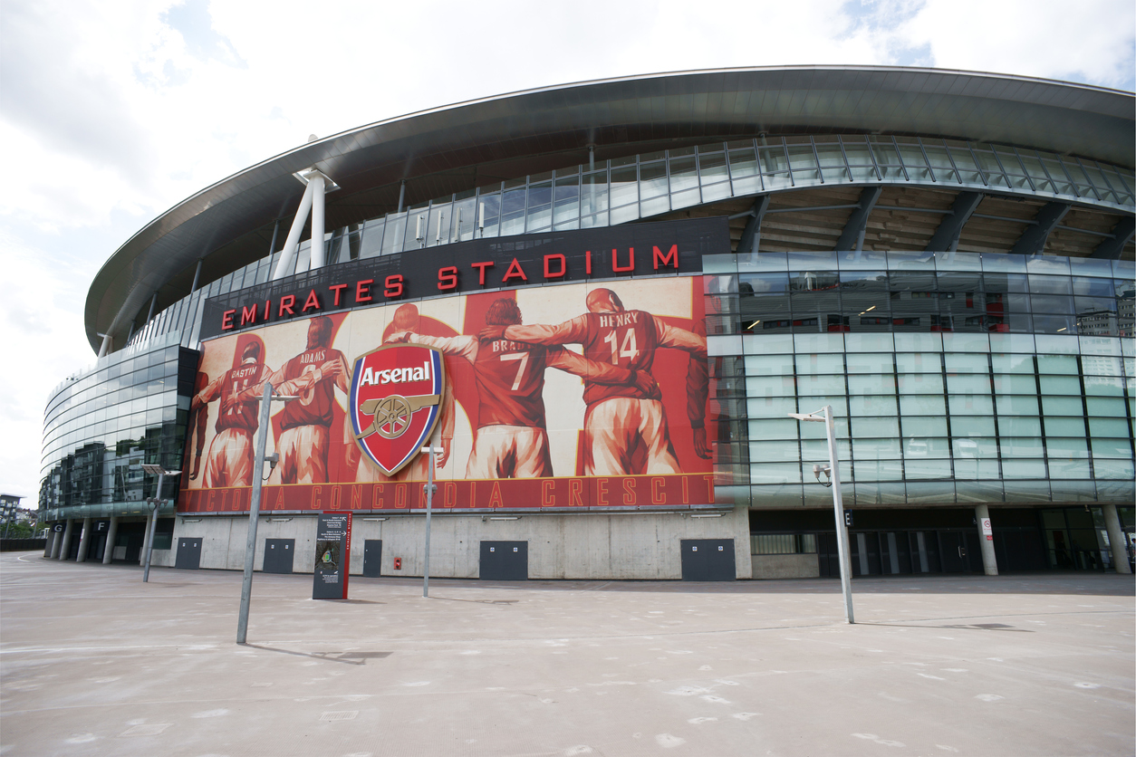 EPL Stadiums from Arsenal to Old Trafford